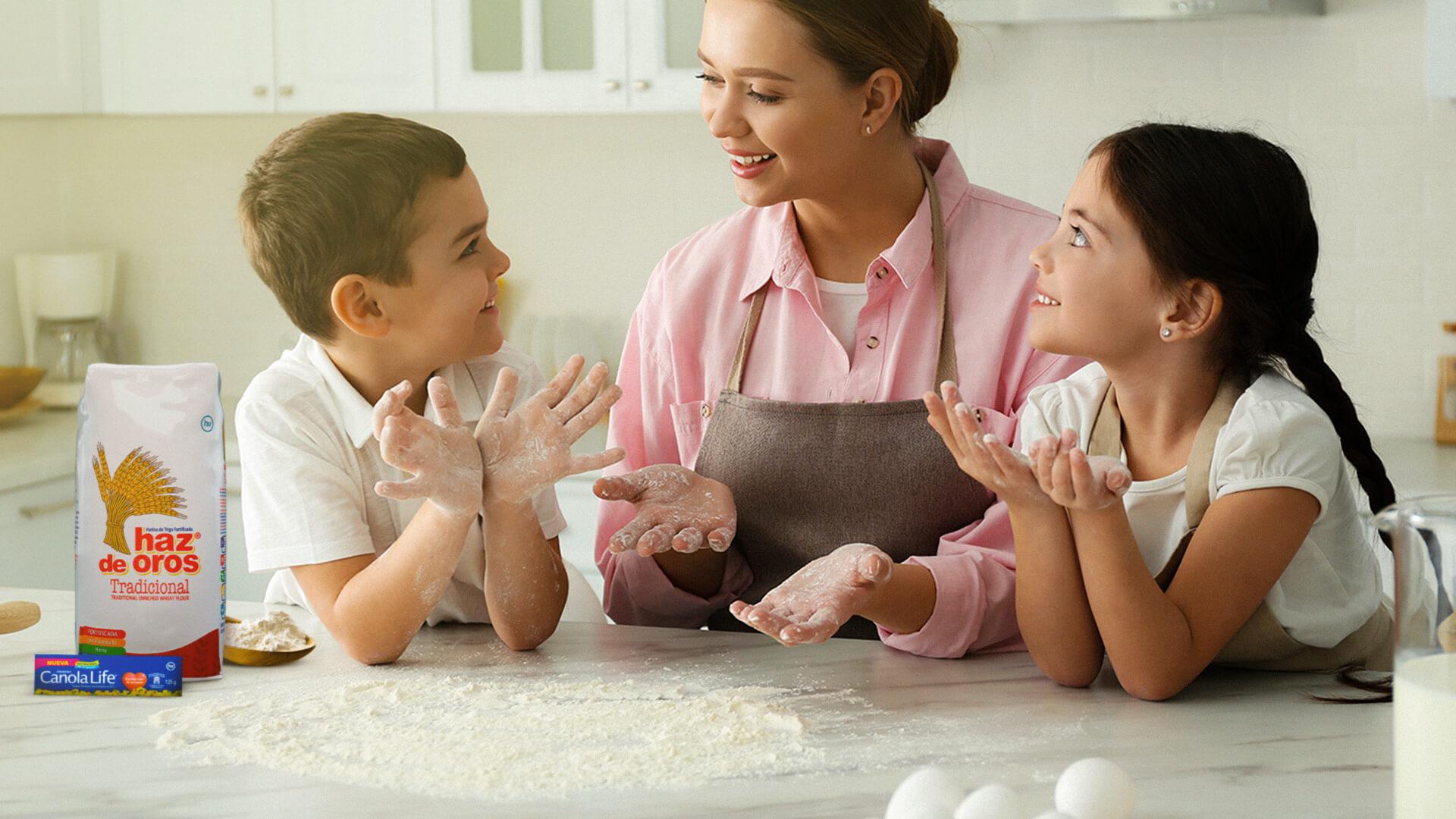 Diviértete enseñándole a tus hijos a tener una alimentación saludable