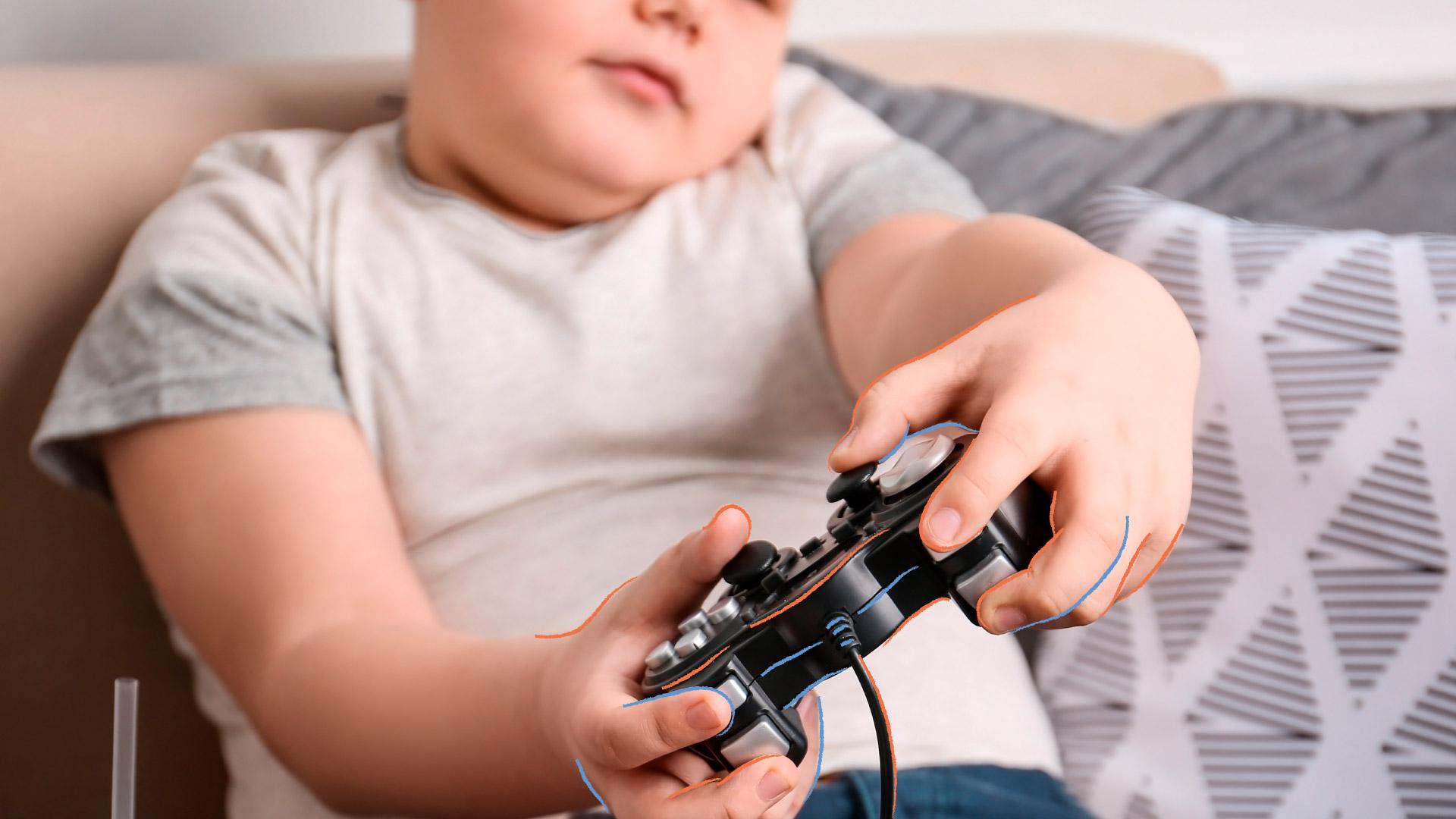 Obesidad en niños y sedentarismo