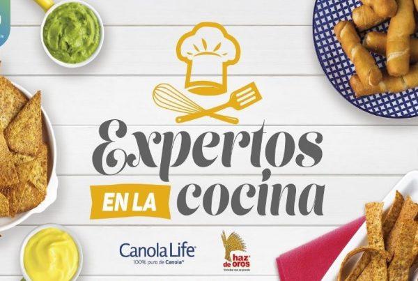 Expertos en la Cocina con Haz de Oros y Canola Life