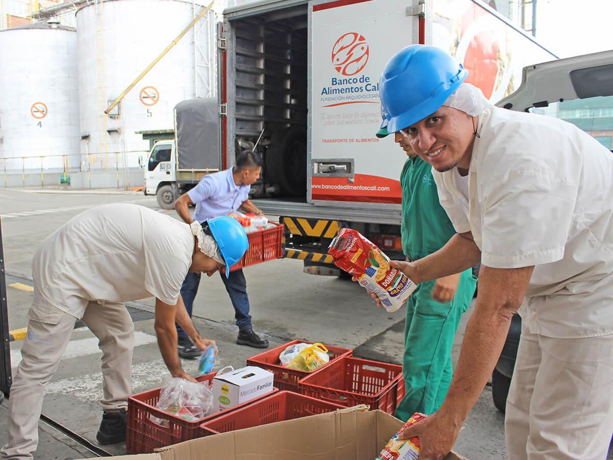 donacion banco de alimentos HV